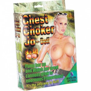 Chest Choker Jo Doll Pvc Infla