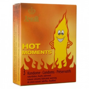 Prezervative Amor Hot Moments 3buc